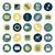 projeto · ícones · negócio · varejo · bancário · vetor - foto stock © ildogesto