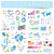 set of infographics design elements stock photo © ildogesto