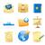 ícones · negócio · metáfora · metáforas · símbolos · papel - foto stock © ildogesto