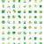 set of green icons stock photo © ildogesto