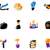 bright business and finance icons stock photo © ildogesto