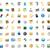 iconos · programa · interfaz · portátil · web · azul - foto stock © ildogesto