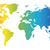 spectral world map stock photo © ildogesto