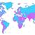 kék · ibolya · részletes · világtérkép · rózsaszín · színek - stock fotó © ildogesto