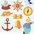 marinheiro · nó · conjunto · corda · infinito - foto stock © ildogesto