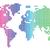 dotted world map stock photo © ildogesto