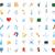 icons for science and medicine stock photo © ildogesto