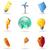 icone · energia · ecologia · mondo · terra · segno - foto d'archivio © ildogesto
