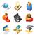 ícone · conceitos · mídia · evento · ícones · diversão - foto stock © ildogesto