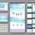 weboldal · internetes · ikonok · szett · egy · tizenhat · kék - stock fotó © ildogesto