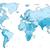 luz · azul · mapa · europa · cores · terra · azul - foto stock © ildogesto