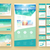 website design template and interface elements stock photo © ildogesto