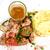 borda · krumpli · marhahús · sült · étel · hús - stock fotó © ilolab