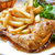 saboroso · carne · grelhada · legumes · dourado · francês - foto stock © ilolab