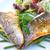 alla · griglia · pesce · frutti · di · mare · verdura · cucina · piatto - foto d'archivio © ilolab