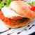 amerikaanse · kaas · kip · hamburger · vers · salade - stockfoto © ilolab