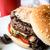 peynir · Burger · amerikan · taze · salata · restoran - stok fotoğraf © ilolab