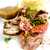 pörkölt · bárány · zöldségek · díszített · asztal · étel - stock fotó © ilolab