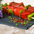 saboroso · carne · legumes · comida · prato · bife - foto stock © ilolab