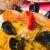 spanyol · konyha · garnéla · rizs · közelkép · étel · zöld - stock fotó © ilolab