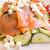 lezzetli · deniz · ürünleri · salata · havyar · marul · zeytin - stok fotoğraf © ilolab