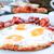 подготовленный · яйцо · солнце · продовольствие · пластина · завтрак - Сток-фото © ilolab