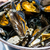 mussel with white wine sauce on table stock photo © ilolab