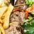 пластина · фри · овощей · мяса · обед · растительное - Сток-фото © ilolab