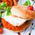 amerikan · peynir · tavuk · Burger · taze · salata - stok fotoğraf © ilolab