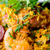 スペイン料理 · エビ · コメ · クローズアップ · 食品 · 緑 - ストックフォト © ilolab