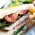szendvics · tálca · izolált · hús · tortilla · étel - stock fotó © ilolab