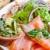 friss · tengeri · hal · saláta · füstölz · lazac · étel · levél - stock fotó © ilolab