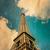 ver · Torre · Eiffel · Paris · França · retro · vintage - foto stock © ilolab