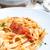 macarrones · queso · suelo · carne · de · vacuno · salsa · de · tomate · cheddar - foto stock © ilolab