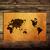 Japonya · harita · grunge · kâğıt · soyut · kırmızı - stok fotoğraf © ilolab