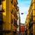 street view of old town in naples city italy europe stock photo © ilolab