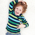 young boy fooling around and playing on the floor stock photo © ilona75