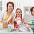 子供 · 支援 · 母親 · キッチン · 女性 - ストックフォト © ilona75