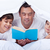 father reading to his sons stock photo © ilona75