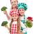 счастливым · Повара · семьи · Постоянный - Сток-фото © ilona75