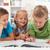 çocuklar · oda · renkli · tablo · sandalye - stok fotoğraf © ilona75