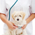 small fluffy dog at the veterinary doctor stock photo © ilona75