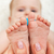 baby feet massage stock photo © ilona75
