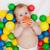 uśmiechnięty · piłka · ręce · mum - zdjęcia stock © ilona75