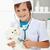 küçük · erkek · oynama · veteriner · doktor · stetoskop - stok fotoğraf © ilona75