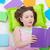 jong · meisje · lezing · kleurrijk · boeken · gezicht · gelukkig - stockfoto © ilona75