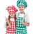 szczęśliwy · dziecko · gotowania · przybory - zdjęcia stock © ilona75