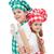 szczęśliwy · kucharz · dzieci · gotowania · przybory - zdjęcia stock © ilona75