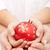 Noel · kırmızı · önemsiz · şey · ahşap · masa · bulanık - stok fotoğraf © ilona75