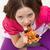 еды · пиццы · сидят · полу · девушки - Сток-фото © ilona75